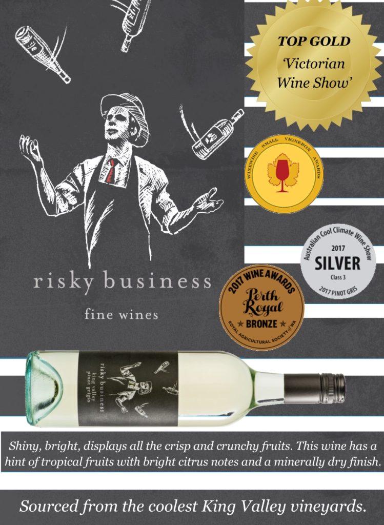 Risky Business Wines Pinot Grigio