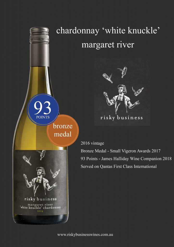 Risky Business Wines White Knuckle Chardonnay